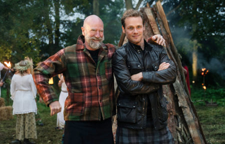 Graham McTavish Sam Heughan Men in Kilts