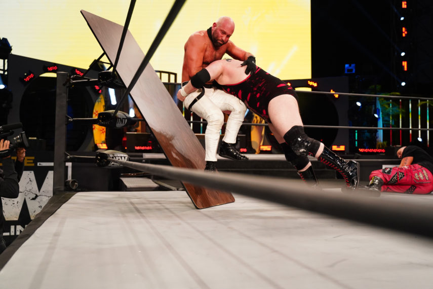 Bear Country takes down The Blade on AEW Dynamite