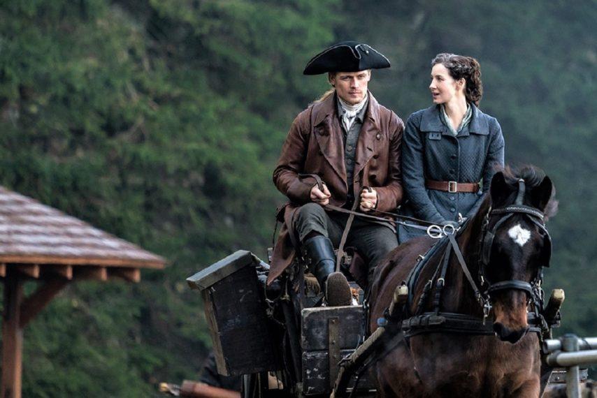 Outlander Season 6 Sam Heughan Caitriona Balfe