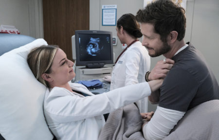 The Resident Season 4 Episode 3 Nic Conrad Baby Ultrasound
