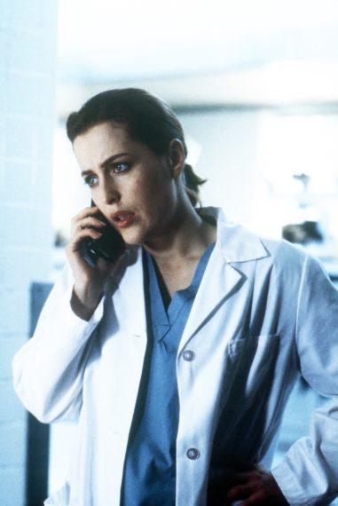 Gillian Anderson The X-Files Leonard Betts Scully