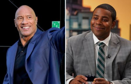 Young Rock Dwayne Johnson Kenan Thompson