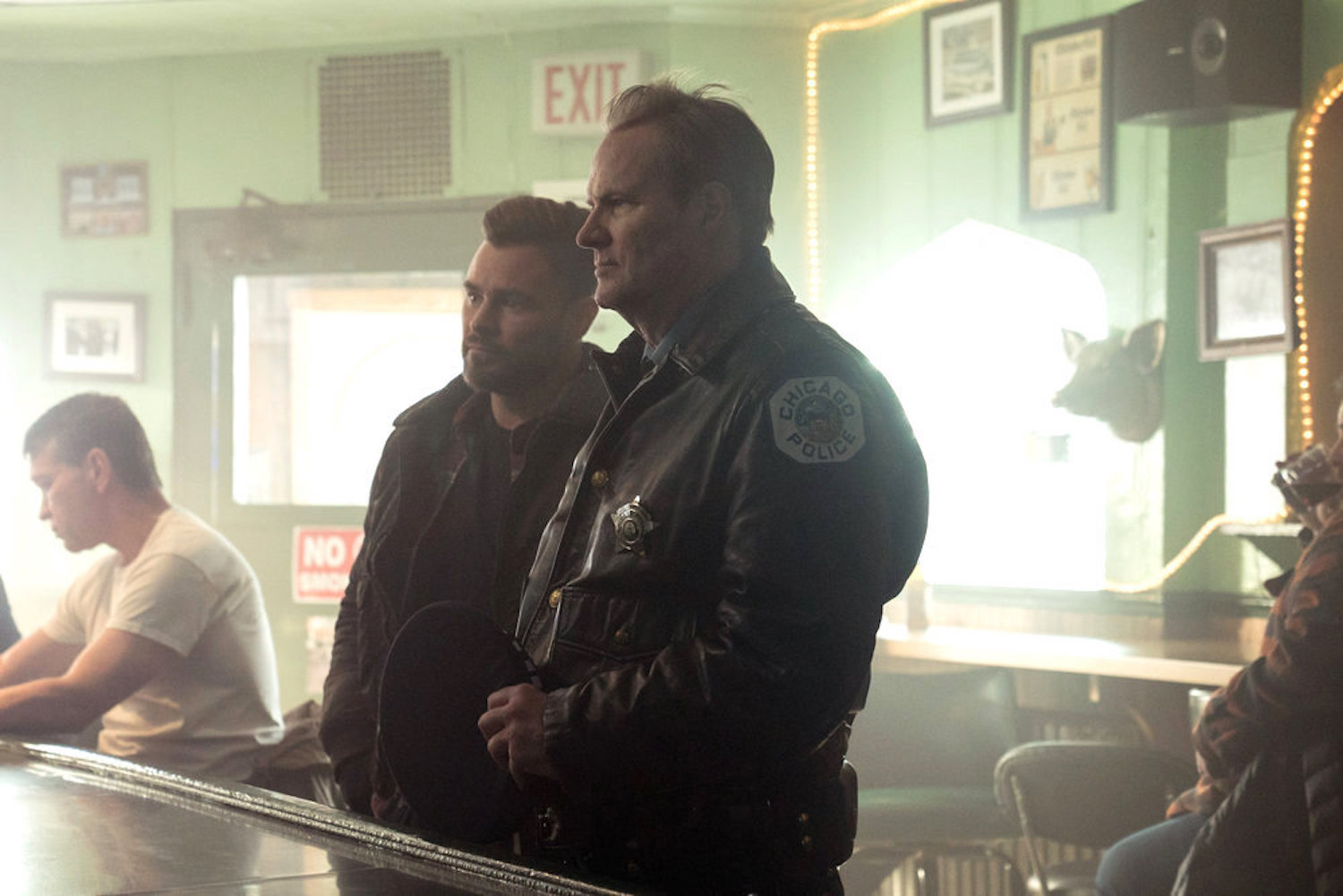 Adam Bob Retirement Party Plans Chicago PD Season 8 Episode 10