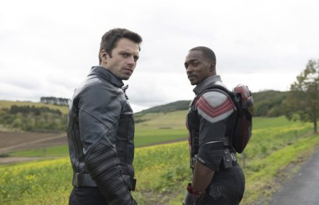 Sebastian Stan Anthony Mackie Falcon and the Winter Soldier