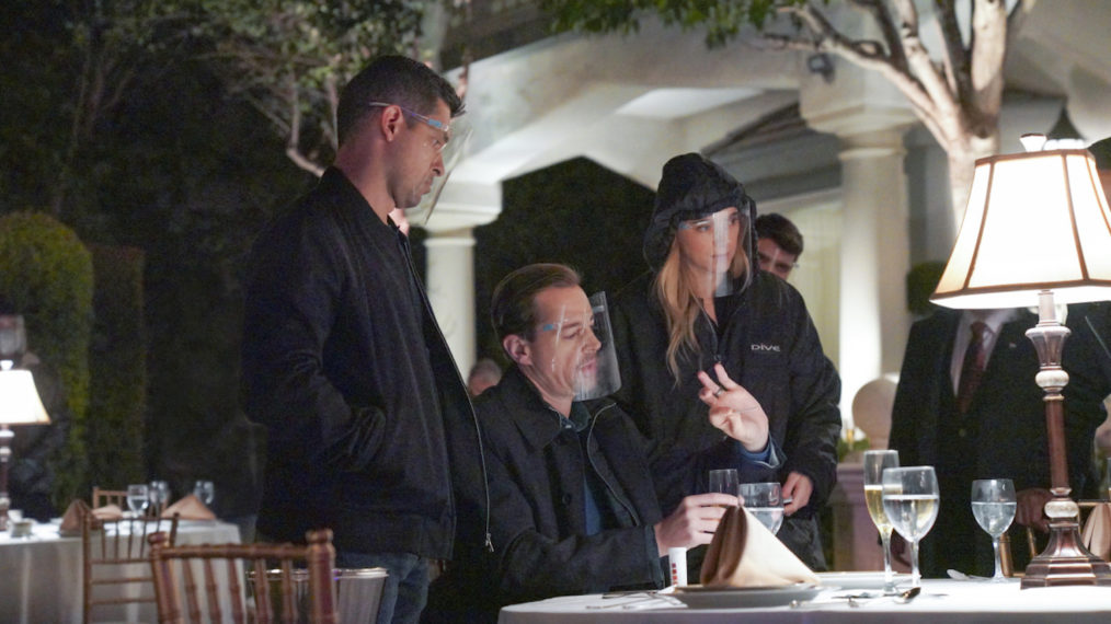 NCIS COVID Compliance Season 18 Torres McGee Bishop
