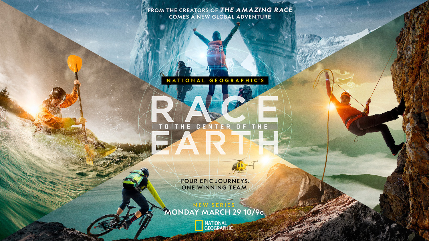 Race to the Center of the Earth Poster