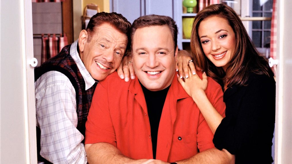 the king of queens jerry stiller kevin james leah remini
