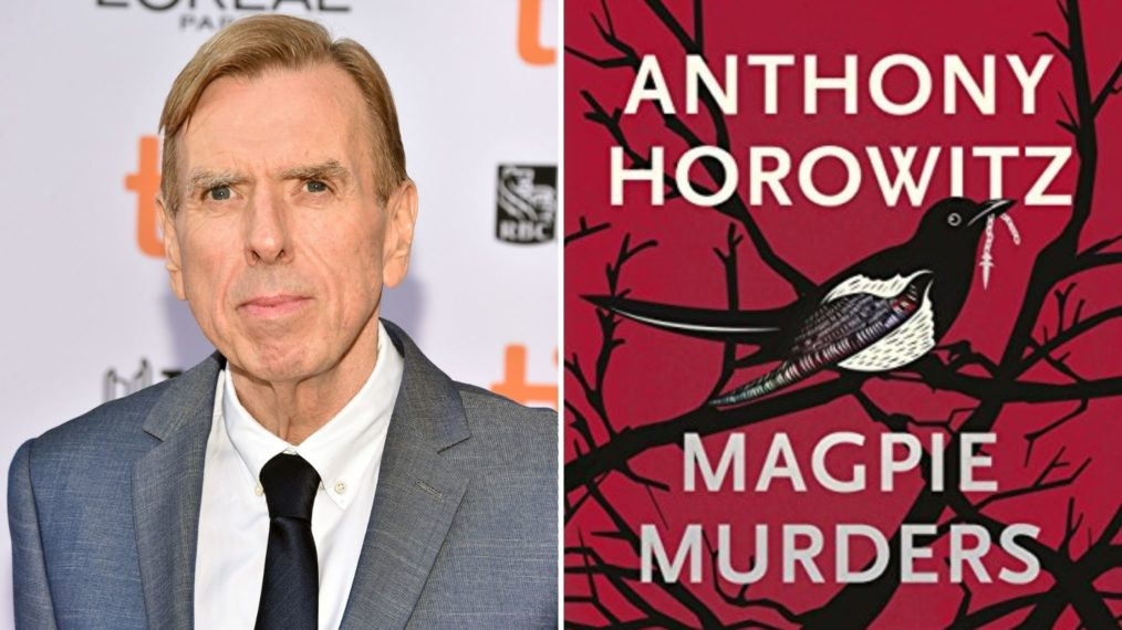 Timothy Spall Magpie Murders Cover