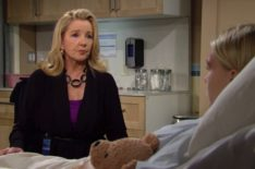 'Y&R' Star Melody Thomas Scott on Nikki Giving Her Granddaughter the 'Faith' to Survive