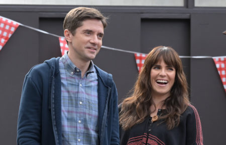 Tom Marina Home Economics Season 1 Topher Grace Karla Souza