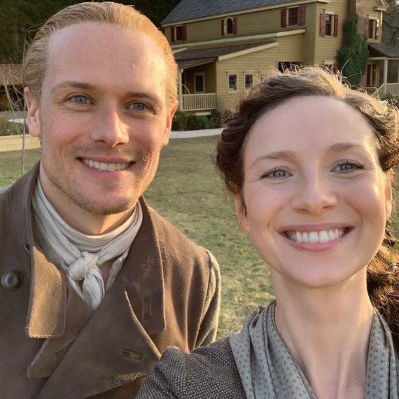 Sam Heughan Caitriona Balfe Outlander Season 6
