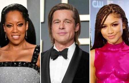 Regina King, Brad Pitt, Zendaya