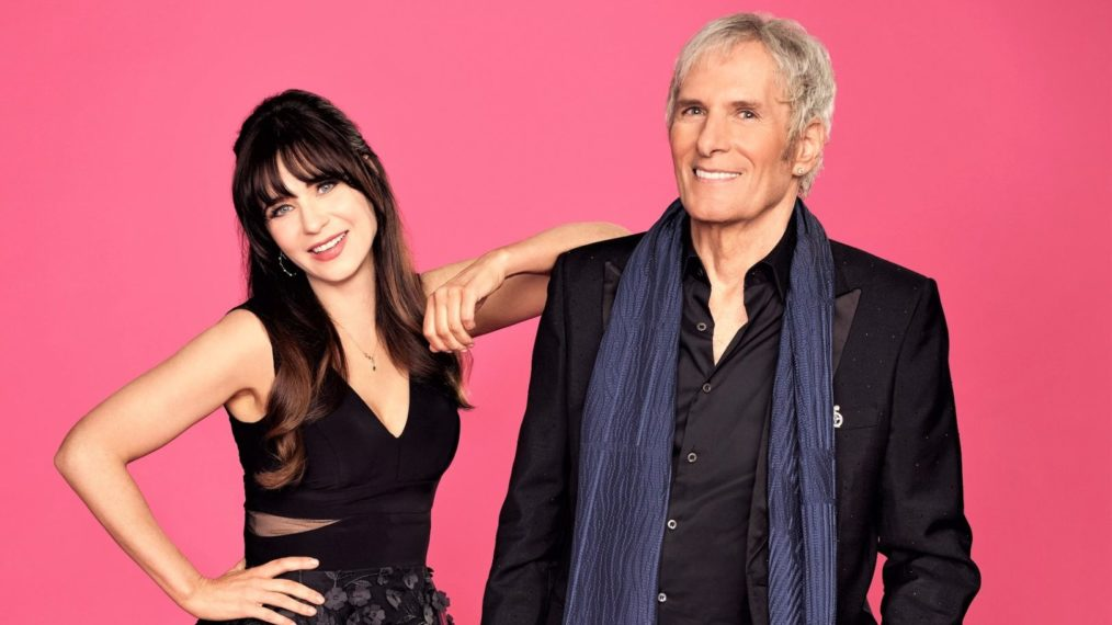 the celebrity dating game zoey deschanel michael bolton