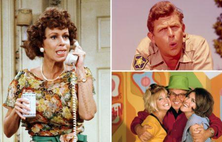 Carol Burnett Andy Griffith Laugh-in