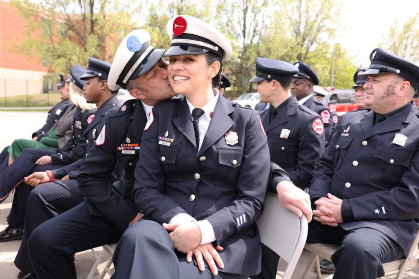 Chicago Fire Season 9 Episode 15 Taylor Kinney Miranda Rae Mayo