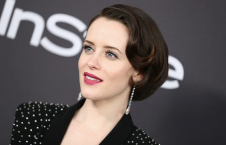 Claire Foy attends the InStyle And Warner Bros. Golden Globes After Party 2019