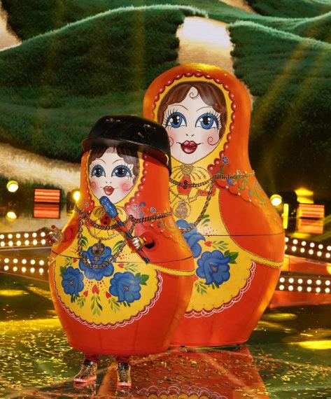 Masked Singer Russian Dolls Super 8 24K Magic