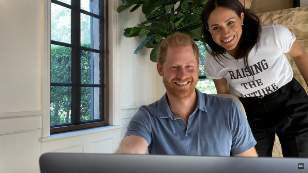 Prince Harry and Meghan Markle in The Me You Can't See