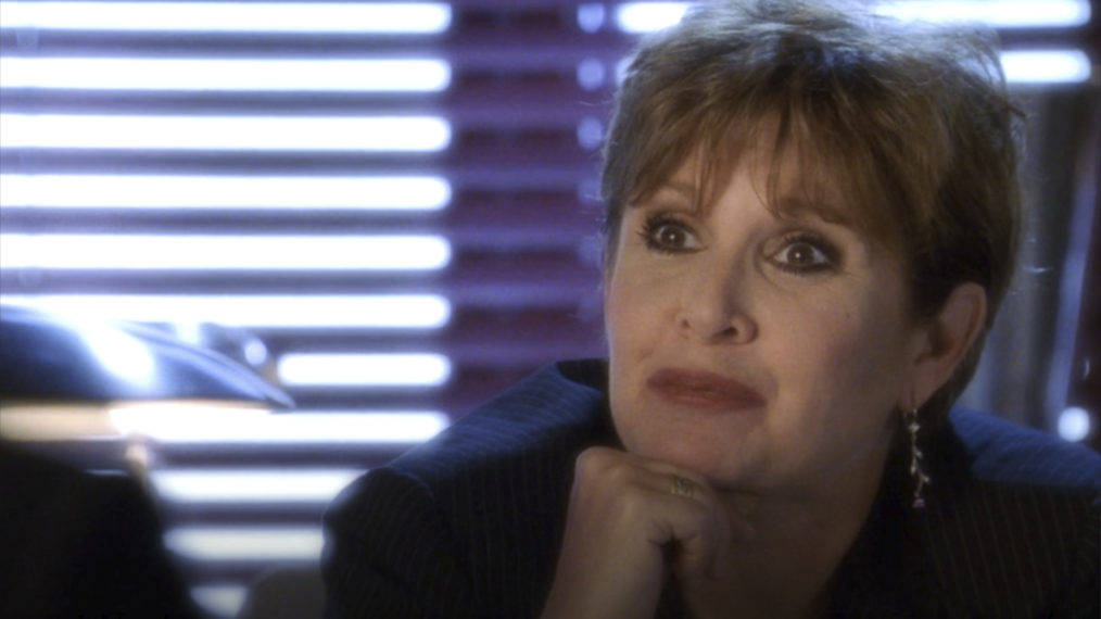Smallville Carrie Fisher