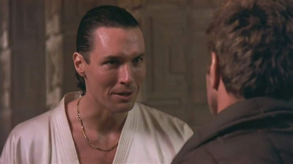 Thomas Ian Griffith as Terry Silver in Karate Kid