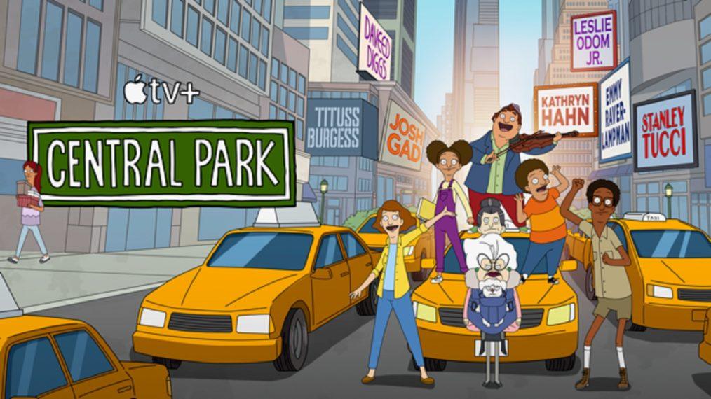Central Park Season 2 Apple TV+ key art
