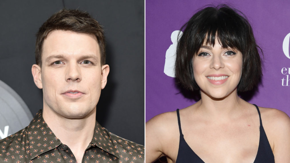 Jake Lacy and Krysta Rodriguez