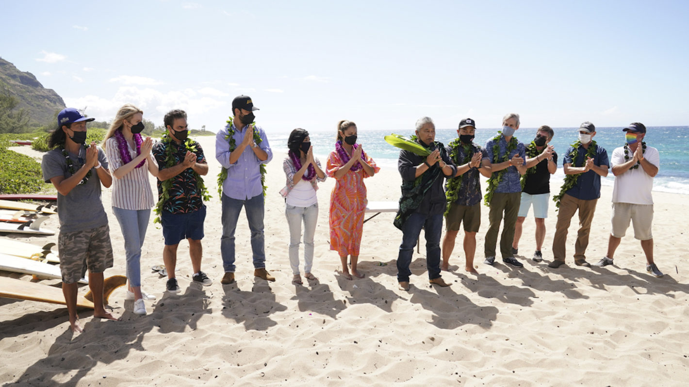 NCIS Hawai'i Production Begins Blessing Ceremony