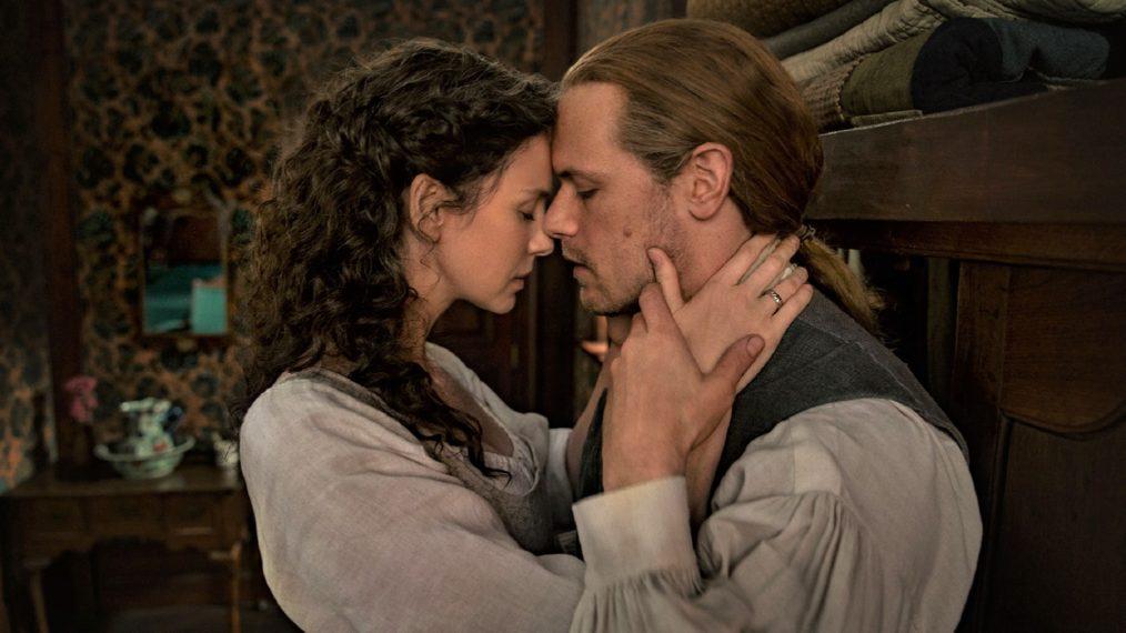 Outlander Season 6 Jamie Claire Sam Heughan Caitriona Balfe