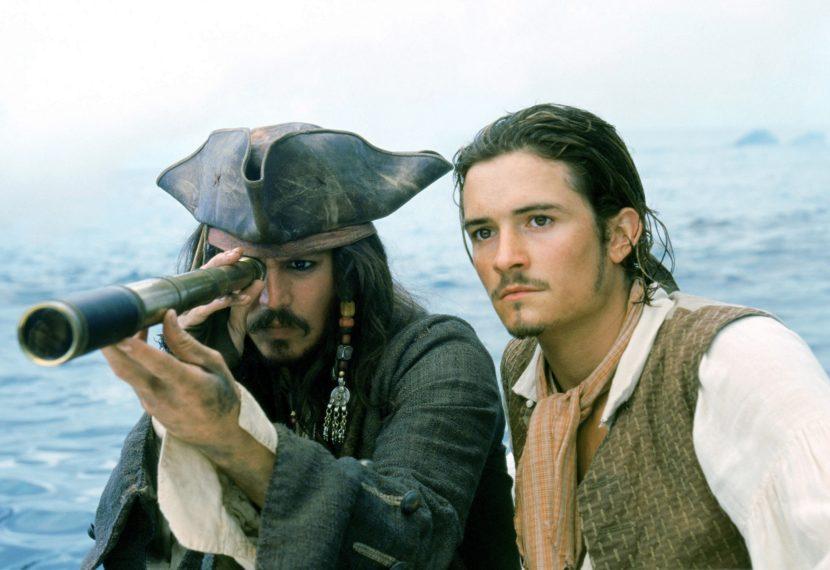 Pirates of the Caribbean Johnny Depp Orlando Bloom