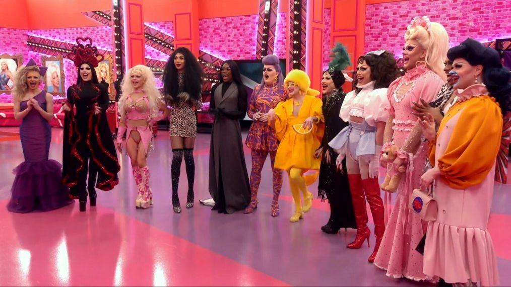 RuPaul's Drag Race UK 201 Cast Tayce Bimini Bon Boulash Lawrence Chaney