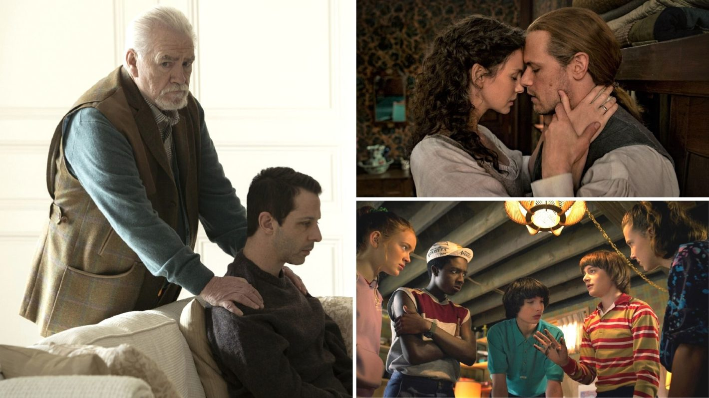 Succession Outlander Stranger Things