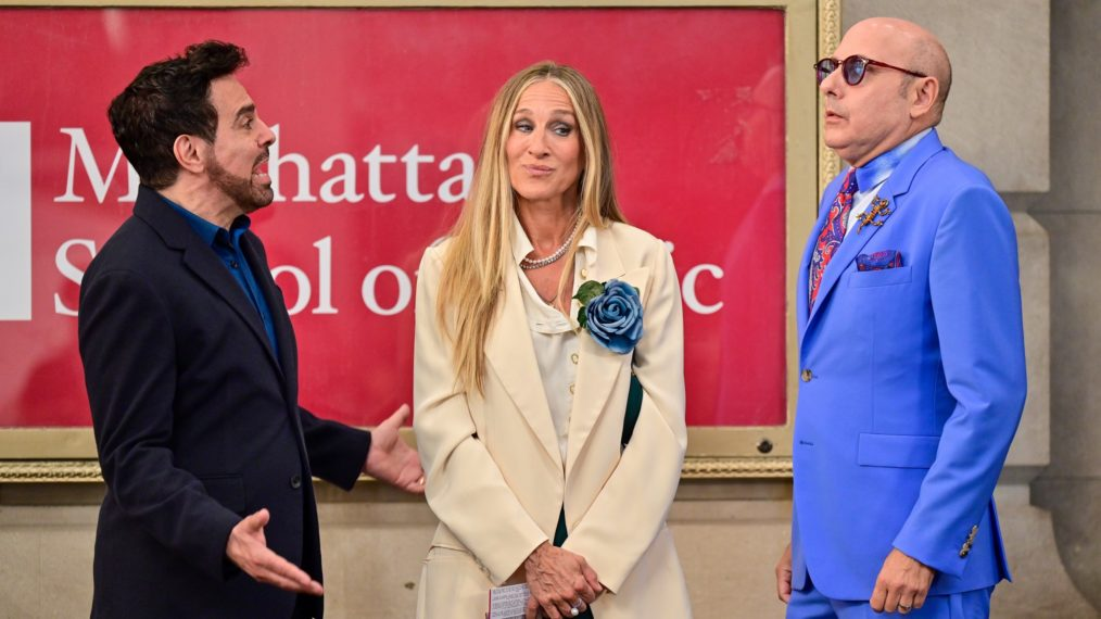 And Just Like that Sarah Jessica Parker Mario Canton Willie Garson