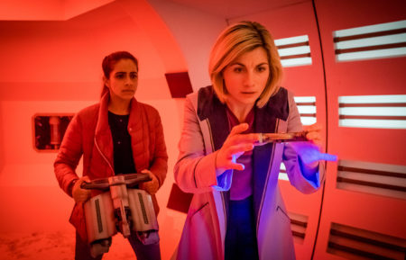 'Doctor Who' Stars Mandip Gill and Jodie Whittaker