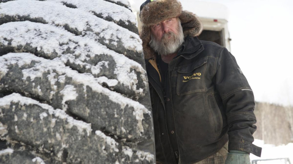 Tony Beets in Gold Rush Winter's Fortune