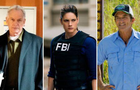 NCIS Mark Harmon FBI Missy Peregrym Survivor Jeff Probst