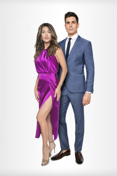 Jacqueline MacInnes Wood and Tanner Novlan on Bold and the Beautiful