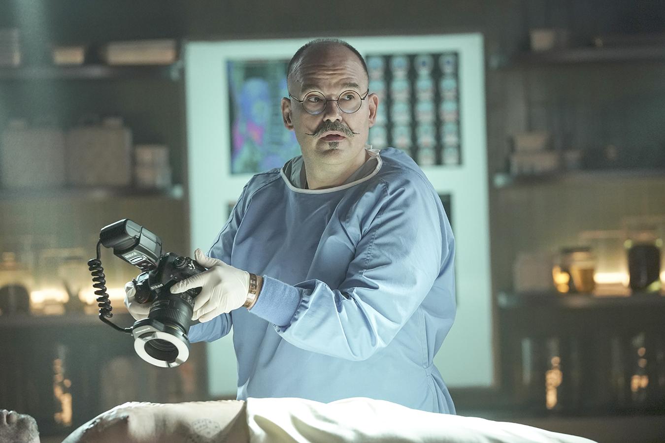 Mel Rodriguez as Hugo in CSI: Vegas