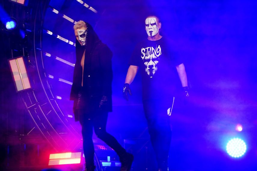 Darby Allin and Sting