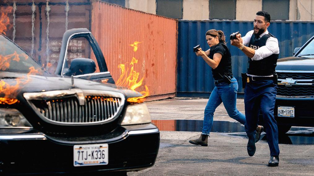 Missy Peregrym as Maggie, Zeeko Zaki as OA in FBI