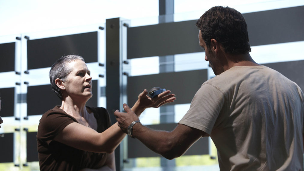 'The Walking Dead' Stars Melissa McBride and Andrew Lincoln