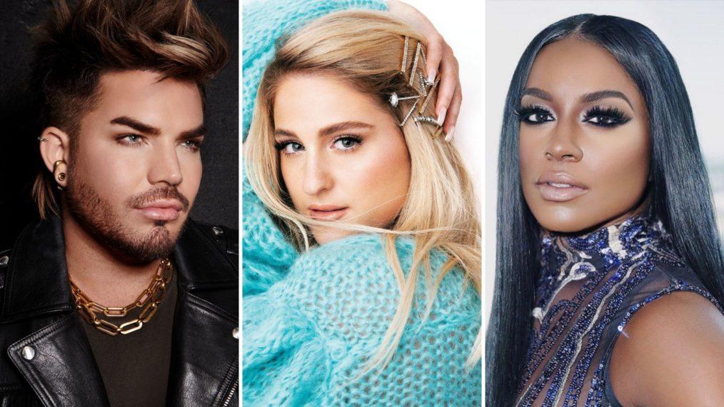 Adam Lambert Meghan Trainor Ester Dean Clash of the Cover Bands