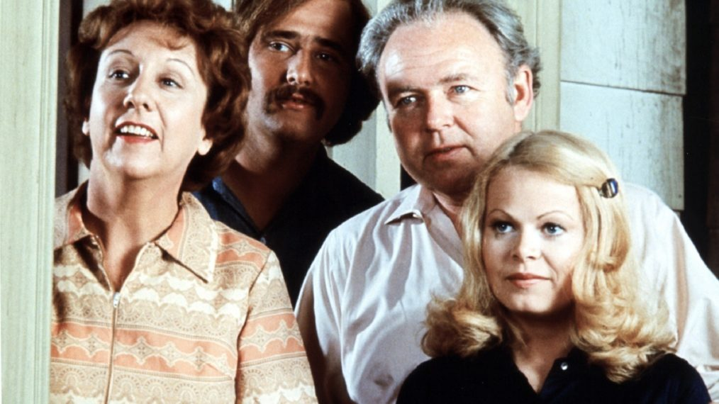All in the Family Sally Struthers Rob Reiner Jean Stapleton Carroll O'Connor