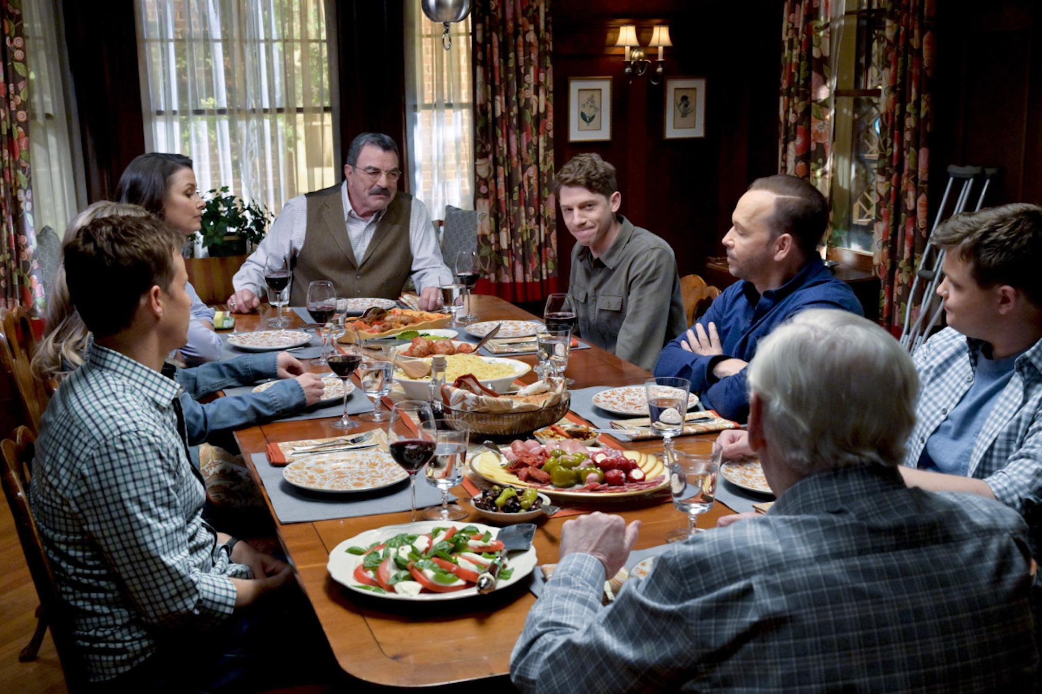 'Blue Bloods' Season 11 Reagan Family Dinner