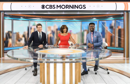 'CBS Mornings,' Tony Dokoupil, Gayle King, and Nate Burleson