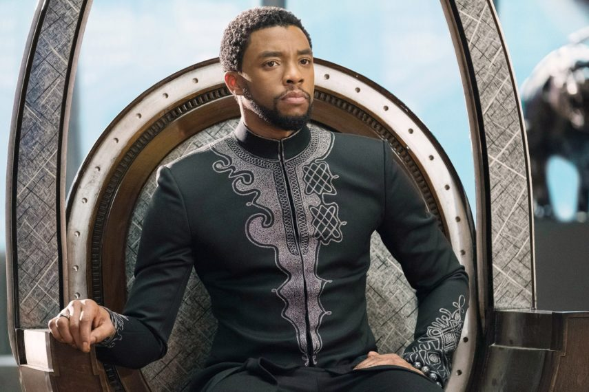 Chadwick Boseman as T'Challa in Marvel's Black Panther