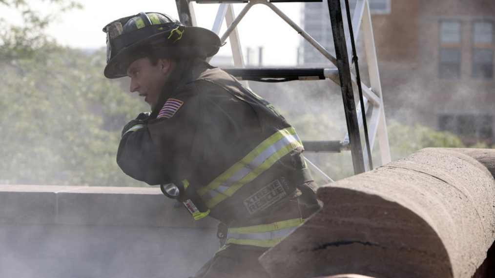 Jesse Spencer as Casey in Chicago Fire