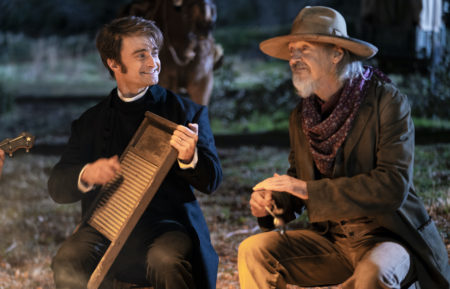 'MIracle Workers' Stars Daniel Radcliffe and Steve Buscemi