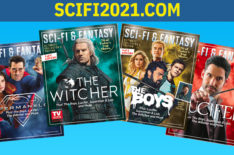 Celebrate Sci-Fi & Fantasy With TVGM's Special Issue Featuring 'Lucifer,' 'The Witcher,' 'The Boys,' & 'Superman & Lois' (VIDEO)
