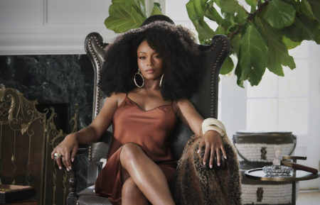 Yaya DaCosta as Angela in Our Kind of People