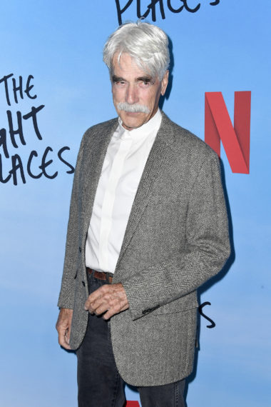 Sam Elliott at an All the Bright Places screening